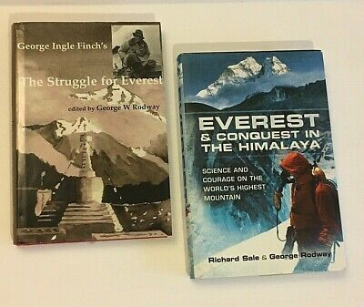 AU25.93 • Buy Signed George Ingle Finch's Struggle For Everest HB & Conquest In The Himalaya