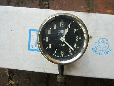 £21 • Buy Vintage Smiths Car Clock 8 Day Wind Up Type. Not Tested But No Obvious Damage