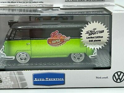$49.99 • Buy M2 Machines Super Chase 1 Of 246 WW 1960 VW Delivery Van 2015 Toy Con Las Vegas