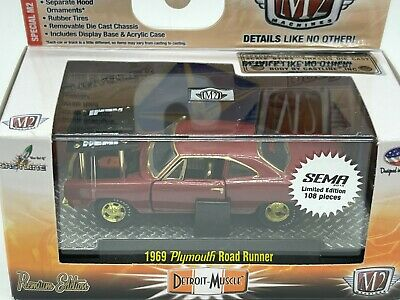 $ CDN87.14 • Buy M2 Machines Super/Raw Chase 1 Of 108 WW 1969 Plymouth Road Runner Special Hood