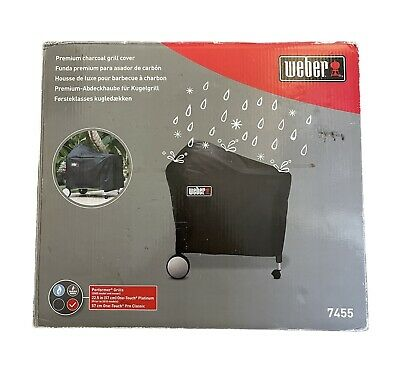 $ CDN50.34 • Buy Weber 7455 Premium Charcoal Grill Cover Lightly Used