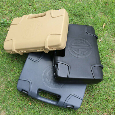 £29.99 • Buy SIG Pistol ABS Plastic Hard Case Airsoft Tactical Toy Padded Foam Lining New