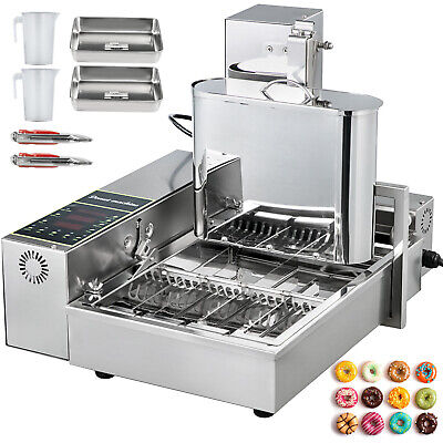 £400.49 • Buy Automatic Donut Maker Machine Automatic Donut Maker 4-Row Commercial Donut Maker