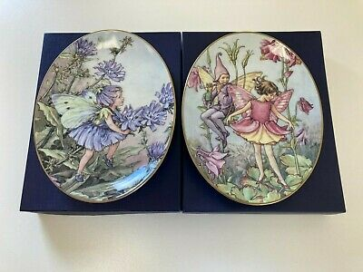 £5.95 • Buy Royal Worcester Collectable Flower Fairies Decorative Plates 75 Years X2  E52