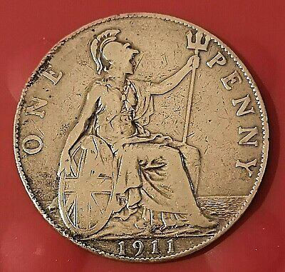 £1.50 • Buy UK 1911 (1d) One Penny Coin 🇬🇧 George V (1910-1936)