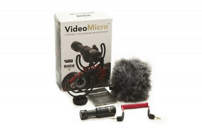 £59.84 • Buy Rode VideoMicro Compact On-Camera Microphone (NEW)