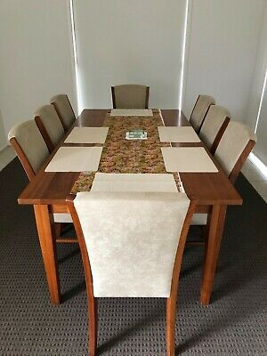 AU10 • Buy Timber Dining Table And Chairs