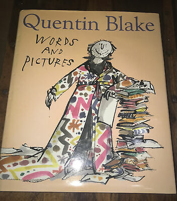 £85 • Buy Words And Pictures, Blake, Quentin, 2000, Signed ✨9780224032667.