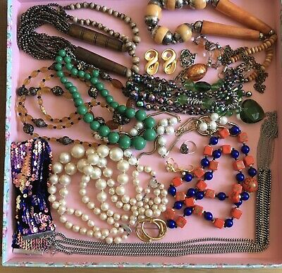 £18 • Buy Lovely Lot Of Vintage Jewellery Inc Silver, Marcasite And A Victorian Brooch