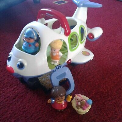 £6.50 • Buy Fisher Price Little People  Jet Plane ( Lights,musical)    With 4 Figures