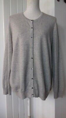 £6.99 • Buy 100% Cashmere,cardi By M&s Collection,size 20.bust 46 ,length 27 .immaculate