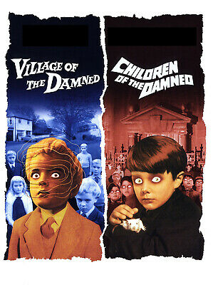 £2 • Buy Village Of The Damned / Children Of The Damned ** Classic Horror **