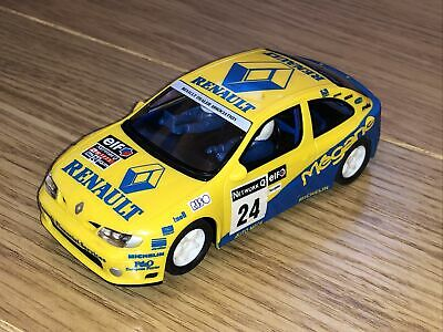 £8.99 • Buy Scalextric Hornby Renault Megane Rally No24 Yellow Tested Working Vintage