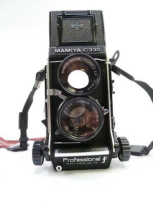 £396.18 • Buy Mamiya C330 F Twin Lens Reflex Camera Outfit With 80MM F2.8 Blue Dot Lens In EC