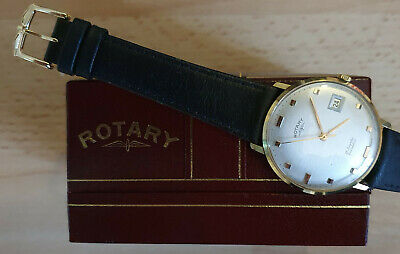 £41 • Buy Rotary Vintage Mechanical Mens Watch 21 Jewels Incabloc Excellent