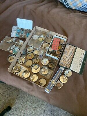 $ CDN4.68 • Buy Vintage Watchmaker Estate Lot Of Watches Parts Or Repair!! Many Cool Items! NR