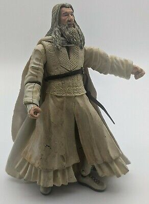 £8.50 • Buy Gandalf The White Action Figure ONLY Lord Of The Rings Two Towers Toy Biz 2002