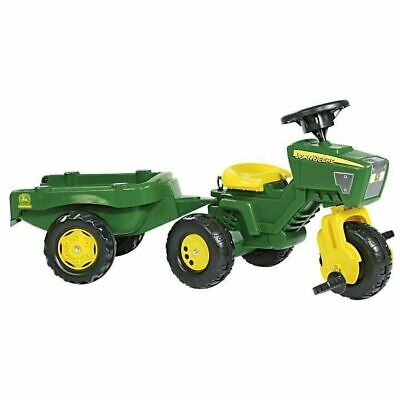 £69.99 • Buy John Deere Rolly Children's Trio Trike Ride-On Tractor And Trailer Toy