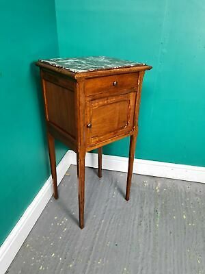 £95 • Buy An Antique Marble Topped Pot Cupboard Bedside Table ~Delivery Available~