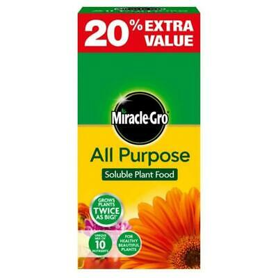 £6.69 • Buy Miracle-Gro Grow All Purpose Soluble Plant Food 1kg + 20% Extra