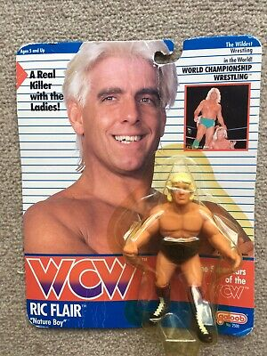 £55 • Buy Ric Flair Wcw Galoob Moc , Wwe Wwf Hasbro  Uk Exclusive With Red Trunks