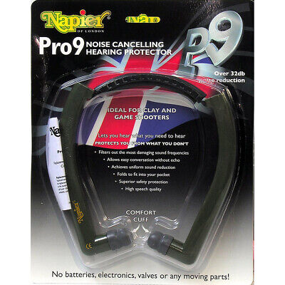 £21.95 • Buy Napier Ear Defenders - Pro 9 Hearing Protection - RRP £32