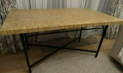 £35 • Buy Kitchen / Dining Table With Tessellated Stone Top