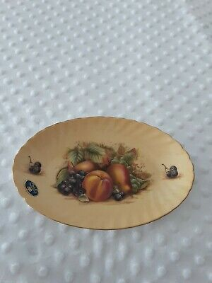 £7.70 • Buy Aynsley Orchard Gold Large Pin Tray Pre Owned