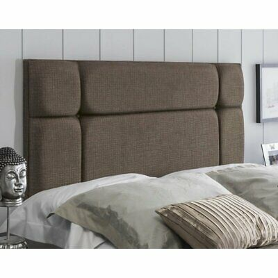£29.99 • Buy Headboard Turin Fabric 20  OSLO Upholstered Bed - All Sizes & Colours