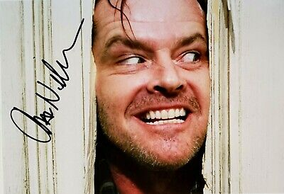 £107.92 • Buy JACK NICHOLSON As Jack In The Shining Personally Autographed/Signed Photo (8X10)