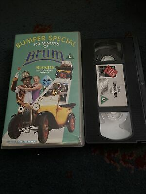 £42.50 • Buy Brum Bumper Special Seaside & 9 Other Stories 100 Minutes VHS Video Tape