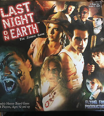 £28 • Buy Last Night On Earth: The Zombie Board Game With Growing Hunger Exp.100% Com