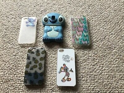 £2 • Buy Various Mobile Phone Cases Including Stitch And Mickey Mouse