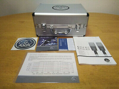 £744.50 • Buy AKG C-414 XL II Large Diaphram Condenser Microphone USED ONCE