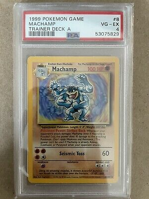 $2500 • Buy 1999 Pokemon Trainer Deck A Machamp. Extremely Rare!