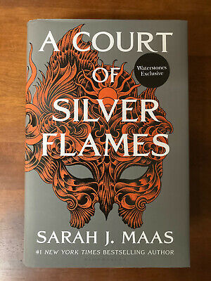 $59.99 • Buy A Court Of Silver Flames By Sarah J. Maas 1st/1st B&N UK Waterstones Exclusive
