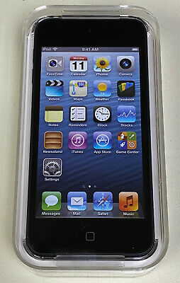£304.77 • Buy NEW Sealed Apple IPod Touch 5th Generation 64GB Black MD724LL/A A1421 IOS 6!