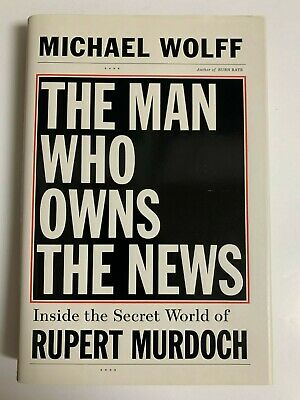AU1.32 • Buy Michael Wolff SIGNED BOOK The Man Who Owns The News 1ST Hardcover ~Fire And Fury