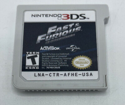 £5.76 • Buy Fast And & Furious: Showdown (Nintendo 3DS, 2013) NTSC Cartridge Only