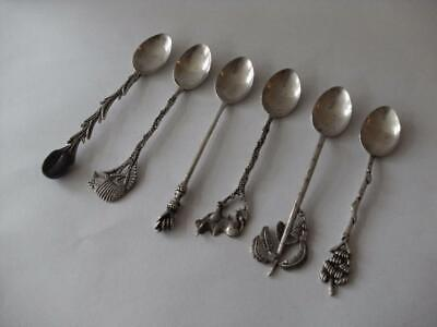 £59.99 • Buy Set Of Six Continental Silver Spoons