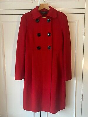 £160 • Buy Brand New With Tags Red Womens Coat From Luisa Spagnoli Size S Rrp £595