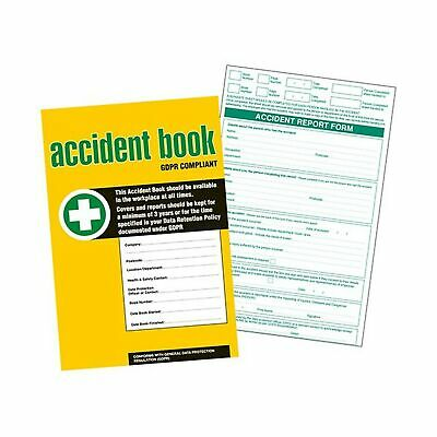 £8.90 • Buy GDPR Compliant Business/Workplace Accident Report Book - A4