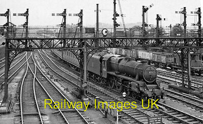 £2.25 • Buy Railway Photo - Southern Approach To Preston Station With Train C1959