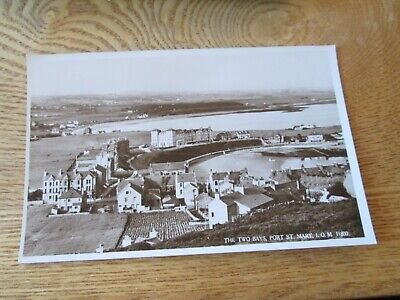 £0.75 • Buy Postcard Of The Two Bays, Port St Mary, IOM (RP Unposted) 11800 J Salmon