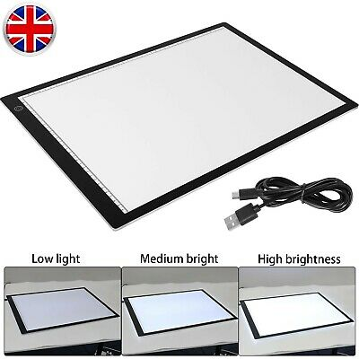 £17.99 • Buy A3-LED Drawing Copy Board Artist Tracing Light Box Thin Pad For Diamond Painting