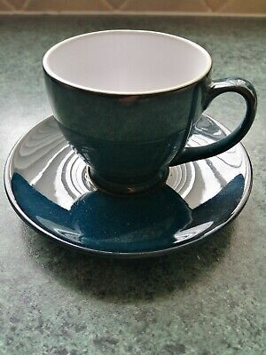 £5 • Buy Six Denby Expresso Espresso Coffee Cups And Saucers