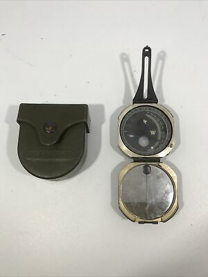 $59.99 • Buy Genuine Us Military M2 Unmounted Magnetic Compass W/ Hard Case