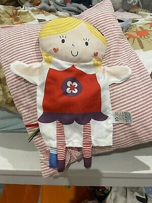 £0.99 • Buy Baby Sensory Say Hello Two Sided Girl Boy Glove Puppet