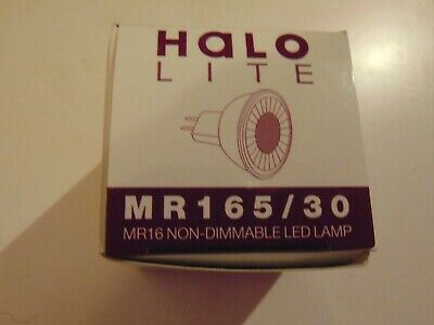 £4.90 • Buy Halo Lite Mr165/30 Mr16 Non-dimmable Led Lamp 500 Lm 5w