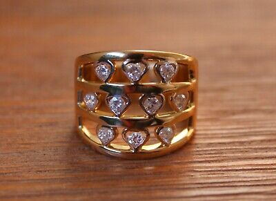 AU1479 • Buy 1ct Diamond Cluster Ring - 22ct Gold